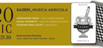 20 dicembre 2014 – Sazèri_musica agricola